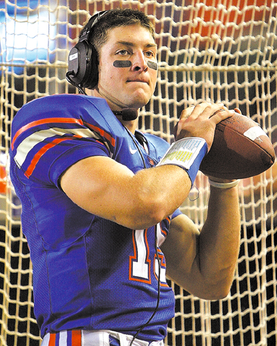 FLORIDA TEBOW FOOTBALL